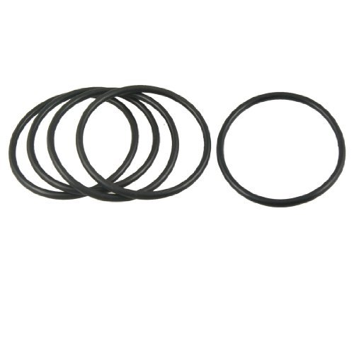 DealMux 62mm x 55mm x 3.5mm Rubber Sealing Oil Filter O Rings Gaskets 5 Pcs DLM-B00A77IDDC