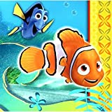 Finding Nemo Party Napkins - Beverage Napkin - 16 Count