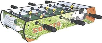 XTURNOS Futbolín Sobremesa de 65x38x15 cm.: Amazon.es ...
