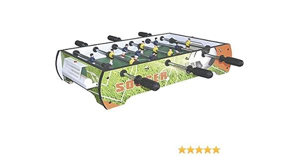 XTURNOS Futbolín Sobremesa de 65x38x15 cm.: Amazon.es: Juguetes y juegos