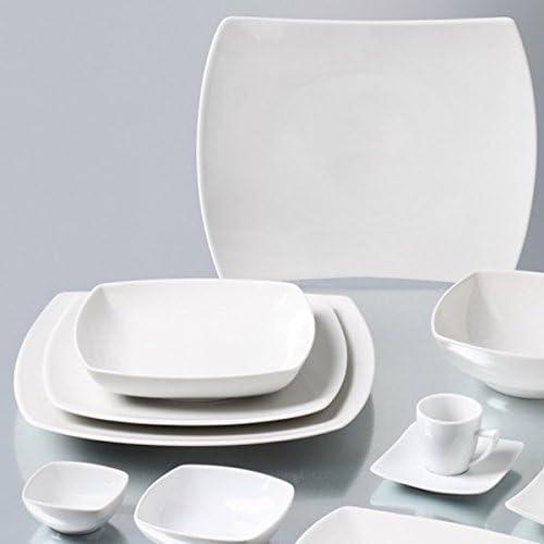 Saturnia Unidades 2/Platos Servir Rectangular Serie Tokio Plato Made in Italy de Porcelana 25/x 14/cm