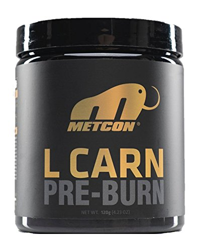 Metcon L Carn - Pre Burn - All Natural Fruit Punch - Non Stimulant Fat Burner - pre Workout - L Carnitine - Thermogenic by MetCon