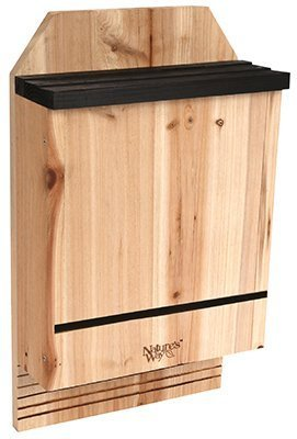 """Nature's Way CWH6 20-1/2"""" H X 12"""" W X 5"""" D Cedar Triple Chamber Bat House by Nature'S Way"""