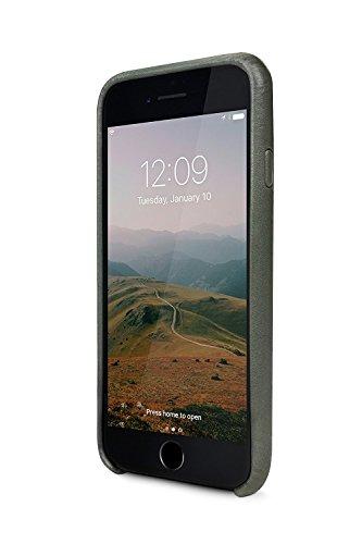 Twelve South Relaxed Coque en cuir, herb | Étui en cuir avec des poches pour iPhone 8 & iPhone 7