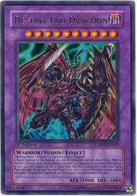YuGiOh GX Light of Destruction Single Card Destiny End Dragoon LODT-EN042 Ult...