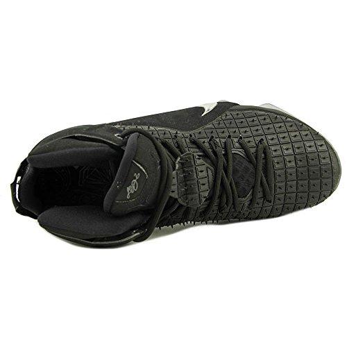 Nike Lebron XII EXT Hombre Fibra sintética Zapato de Baloncesto Black