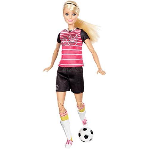 Barbie -DVF69 - Joueuse de Foot