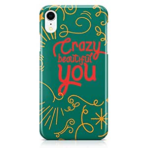 Loud Universe Case for iPhone XR Wrap Around Edges Crazy Beautiful You Sleek Design Low Profile Durable iiPhone XR Cover