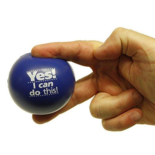 Stress Relief Toys For Adults : Teacher peach motivational stress ball assortment pack