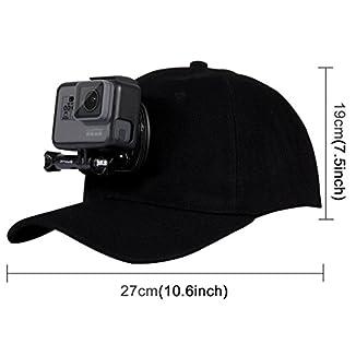 Gorra con soporte para GoPro 1