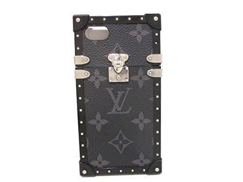 (ルイヴィトン) LOUIS VUITTON 小物入れ 携帯電話ケース アイトランク iphone7 モノグラムエクリプス M64489 【中古】 B07FSHGBKR  -