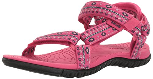 Little Girls Sandals (Teva Girls' Hurricane 3 Sandal, Hippie Raspberry, 1 M US Little Kid)