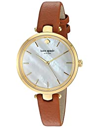 Kate Spade New York Women's Holland Watch - KSW1156 Luggage/Gold