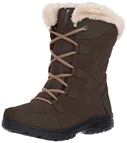 Columbia Women's Ice Maiden Ii Snow Boot, Cordovan, Siberia, 9 B US (Best Boots For Snow Removal)