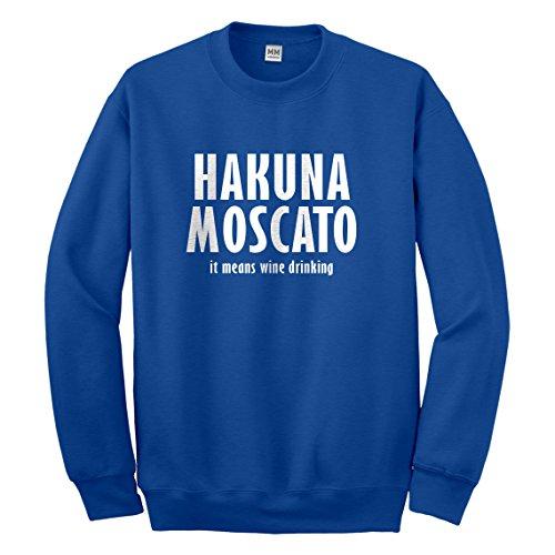 Crew Hakuna Moscato X-Large Royal Blue - 3379 Rb