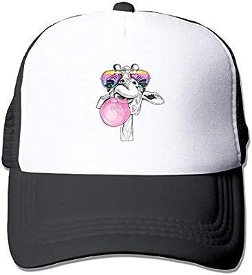 Gorra de béisbol de malla con protector solar de jirafa de aspecto ...