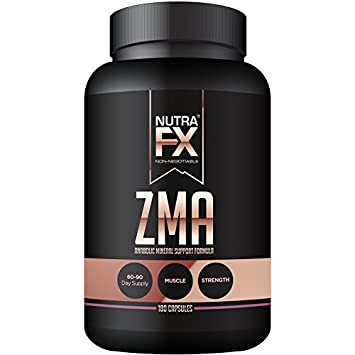 Amazon com: NUTRAFX ZMA Capsules Post Workout Supplement