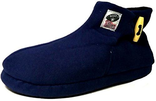DE FONSECA pantofole stivaletti invernali da uomo mod. TRENTO M205 blu