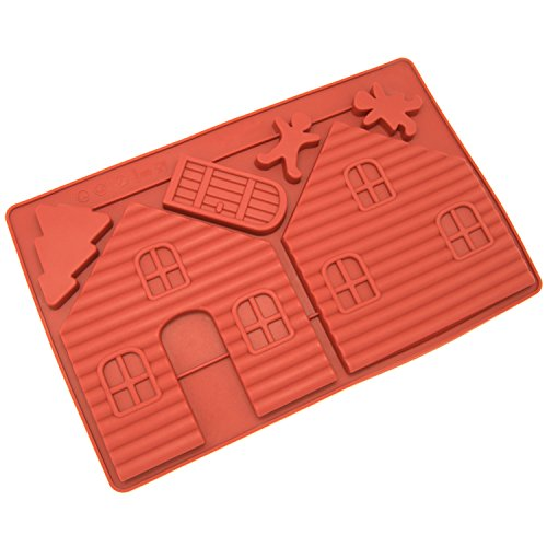 Freshware CB 700RD Silicone Gingerbread Chocolate