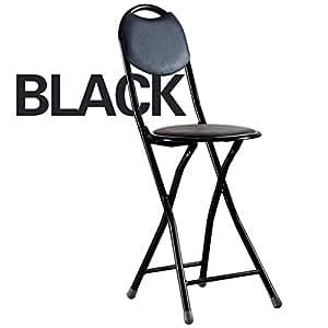 Amazon.com: Folding Chairs Dining Chair Round Stool Folding ...