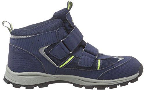 Kappa ACTION TEX T Footwear Teens - Botas unisex para niños Azul (6733 navy/lime)