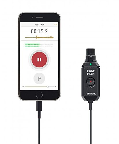 Rode i-XLR digital XLR interface for Apple iOS devices by Rode