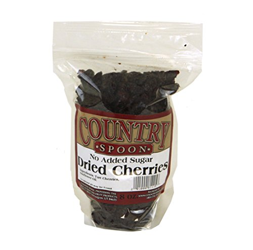 No Sugar Added Dried Tart Montmorency Cherries (8 oz.) by Country Spoon