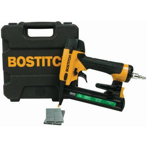 Pneumatic Staple Gun (BOSTITCH SX1838K 18-Gauge Narrow-Crown Stapler)