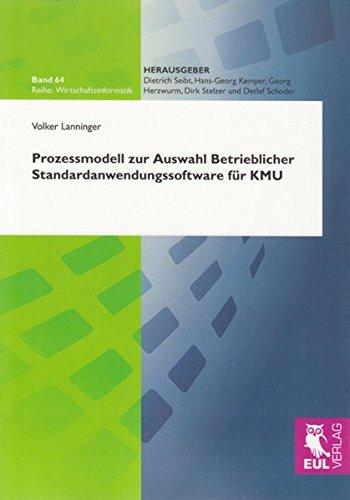 Prozessmodell zur Auswahl Betrieblicher Standardanwendungssoftware für KMU
