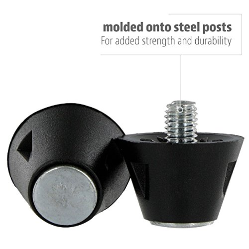 1 Nylon Tip Football Sole Sof Shoes Inch Replacement Steel for 2 Cleat HqpZT1