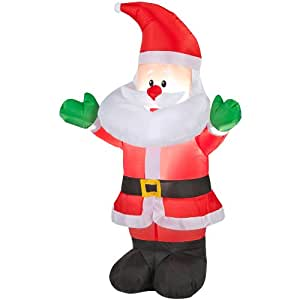 Holiday Living Inflatable Airblown Baby Santa Outdoor ...