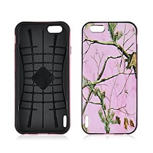 Fashionable Angibabe 2 in 1 Tree Branch Pattern Silicon+PC Soft Slim Back Cover for iPhone 6 Phone Cases Case 4.7 inch