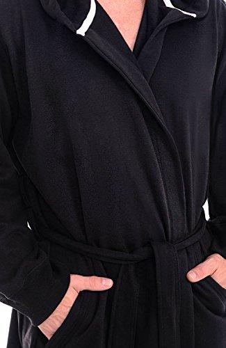 d61b759954 Alexander Del Rossa Mens Cotton Robe