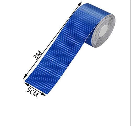 Shinequ-US Reflective Stripe,Reflective Warning Tape, 2Pcs High Intensity Reflective Safety Tape, 5 cm x 3 m by Shinequ-US (Image #2)