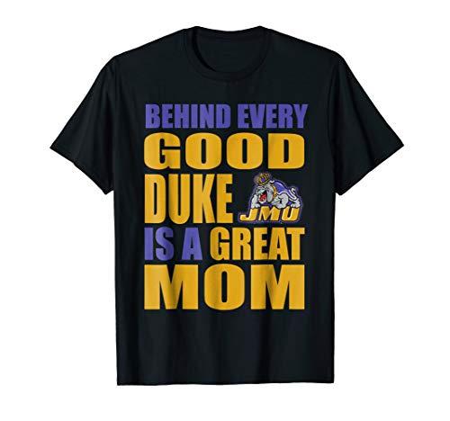 (James Madison Dukes Jmu Duke Mom Shirt T-Shirt - Apparel)