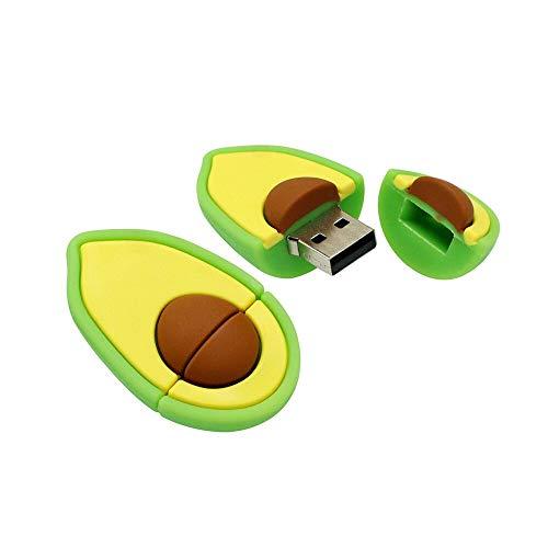 16GB Forma de Aguacate PenDrive Unidad Flash USB Memory Stick U Disco Unidad de Disco USB Disco Flash USB Unidad USB…