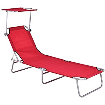 Amazon.com : LYFESTYLE INNOVATIONS Cool Lounger : Lawn ... on Dollar General Chaise Lounge id=26540