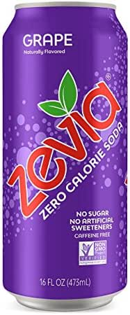 Soft Drinks: Zevia Grape