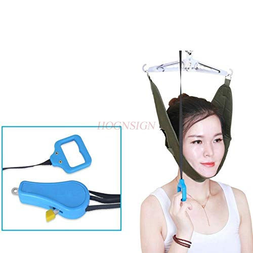 HOKUGA Swingset Accessories Outdoor - Cervical Traction Device Home Neck Stretch Chair Cervix Medical Instrument Hanging Correction Stretching Tract Care Tool Office
