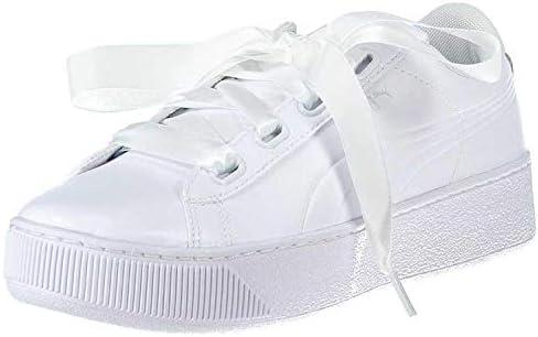 Puma Vikky Platform Ribbon P White