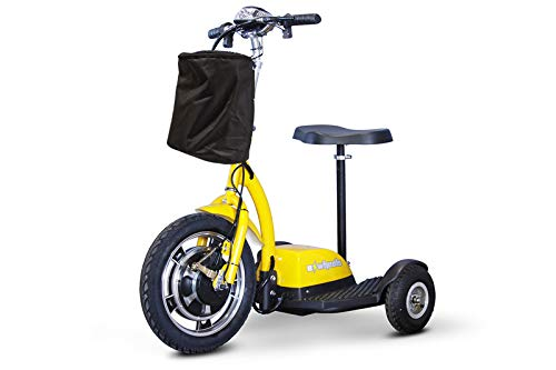 E-Wheels, EW-18 Stand n Ride Scooter 3-Wheel - Yellow by eWheels