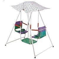 مرجيحة اطفال مع مظلة ، متعدد الالوان