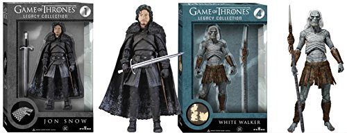 Maven Gifts: Funko Legacy Game of Thrones Figures White Walker with Jon Snow