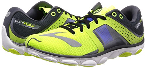 Blue Electric Nightlife D Brooks Yellow Anthracite Pureflow 4 AgCtCq