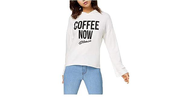Pretty Rebellious Juniors Coffee Graphic Hoodie