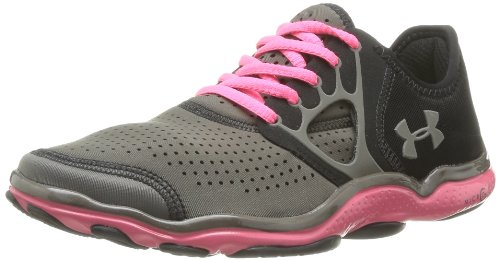 Under Armour Lady UA Feather Radiate Running Shoes - 10 - Black