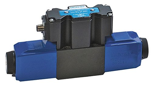 Vickers02-135168 KTG4V0 Series 4 Way Proportional Hydraulic Throttle Valve, Closed Center Spring Controlled Spool Type, 5000 psi Maximum Pressure, 24 VDC, 5 GPM Flow ()