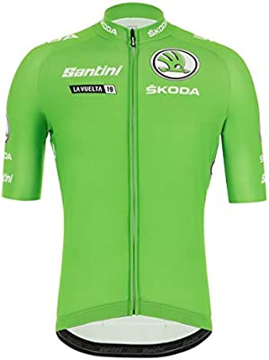 Santini - La Vuelta 2019 - Best Sprinter, Camiseta de Manga Corta ...