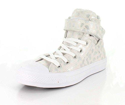 Converse Dames Chuck Taylor All Star Brea Hoge Top Sneaker Wit / Wit / Wit