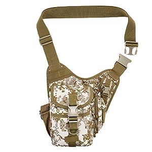 Lixada Outdoor Sports Multifunction Lure Bag Fishing Rod Tackle Bag Waist Pack Camping Hiking...